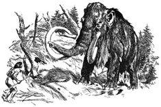 Setkani pracloveka a mamuta. Prehistory, Archaeology, Most Beautiful Pictures, Moose Art, Outdoor, Nature, Animals, Image, Dinosaurs