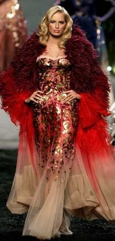Christian Dior - this would be an AMAZING christmas concert ensemble