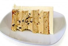 peanut butter cake with peanut butter chip filling Courtesy of Pink Cake Box