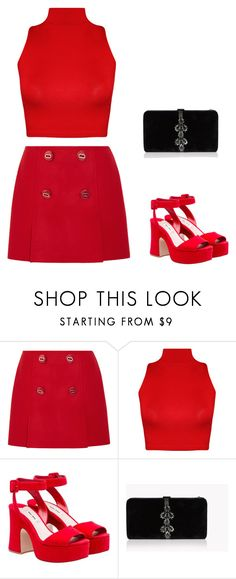 """""""natal 7"""" by caroltips ❤ liked on Polyvore featuring Prada, WearAll and Dsquared2"""