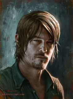 Norman Reedus by Daryl Dixon