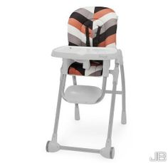 New High Chair Tray Feeding Infant Toddler Seat Highchair Baby Durable Plastic - With its crisp white surface and sleek chrome tubing, the high chair commands attention while giving your kitchen a clean, fresh look. Durably constructed, this chair is fully adjustable to offer maximum flexibility for an optimal fit during feeding.