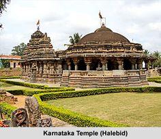 Hoysaleshwara Temple in Halebidu city of Karnataka state, INDIA.
