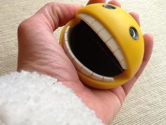 Squeeze PAC-MAN Toy on Etsy, $16.00