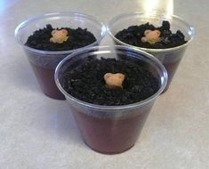 Groundhog Day Dessert--kids can help or even do it themselves.