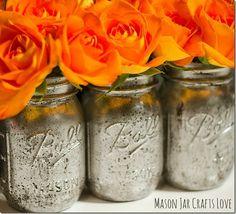 Mercury Glass How To | Mason Jar Crafts Love