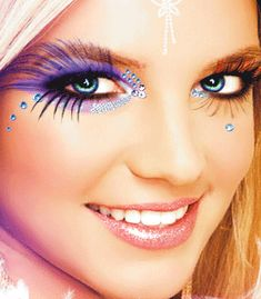 http://www.eyemakeupforhazeleyes.com/deals-eye-makeup/ Fantasy Eye Makeup #eyemakeup #eyeshadow #eyeliner