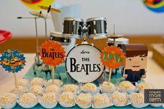 Fotografia: Sandra Pagano Papelaria personalizada, identidade visual, The Beatles,band,festa,party, festa infantil, ilustração,papelaria,tag no palitinho, paper goods,aniversário,ninguem mais tem