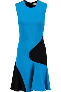 EMILIO PUCCI TWO-TONE STRETCH-KNIT MINI DRESS GBP273.33 http://www.theoutnet.com/product/871916