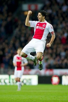 Luis Suarez when he was an Ajax player