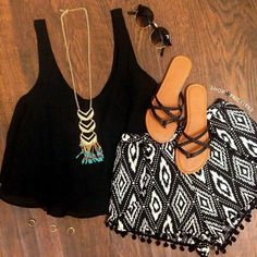 Top 16 Boho Outfits With Fabric Short – Famous Spring Summer Fashion Design Cute Summer Outfits, Summer Wear, Spring Summer Fashion, Spring Outfits, Casual Outfits, Summer Fall, Casual Summer, Summer Shorts, Holiday Outfits
