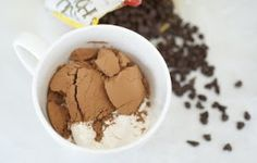 2 Stews: 1-2-3 Chocolate Microwave Mug Cake