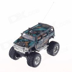 1:32 49 MHz Radio Control R/C High Speed SUV Car Model Toy - Groovy Green. Model 2008D Quantity 1 Piece(s) per pack Color Groovy Green Material ABS + Alloy Scale 1 : 32 Function Forward and backward, turn left and right, stop, reverse, speed up Remote Controller Battery 4 x AA batteries (not included) Other Feature Controllable Distance:15-20m Suitable Age 8+ Packing List 1 x R/C Car Model 1 x Remote Control 1 x English & Chinese Manual. Tags: #Hobbies #Toys #R/C #Toys #R/C #Cars