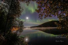 Lapland in Finland. Photo by Kouta Kuva. NorthenLights - ToivanenPia