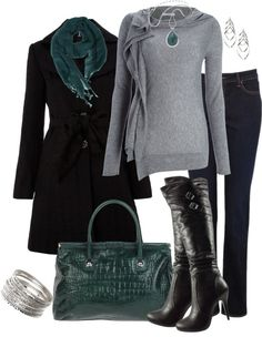 """December Night Out"" by averbeek on Polyvore"