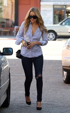 i have always been obsessed. with this outfit. love lauren conrads style <3