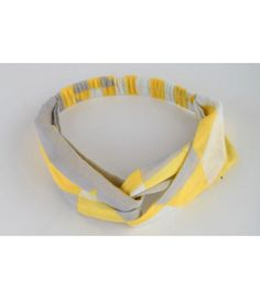 Yellow Abstract Turban