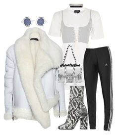 """""""#StyledByLeek"""" by stylebywho on Polyvore featuring Topshop, Haider Ackermann, Public Desire, adidas, Fallon, Proenza Schouler and Chanel"""