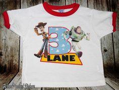 Toy Story Buzz Lightyear Birthday Black or by PersonalizedBirthday