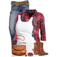 Hay Ride, created by lmm2nd on Polyvore