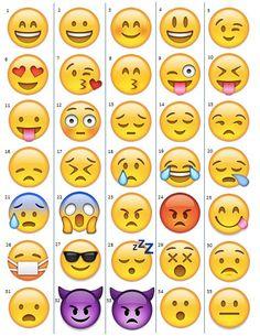 Opción de encargo grande Emojis tatuajes temporales por TatASaurus