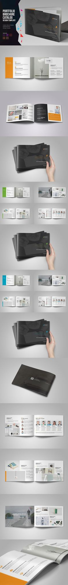 The Square BiFold Brochure Brochure Templates  Brochure
