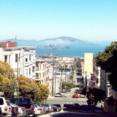 The lovely streets of Nob Hill, San Francisco.