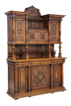 Buy online, view images and see past prices for A RENAISSANCE REVIVAL WALNUT BUFFET A DEUX CORPS. Invaluable is the world's largest marketplace for art, antiques, and collectibles.
