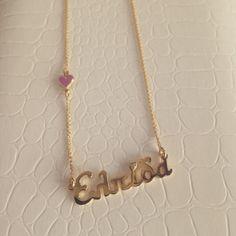#pentand #jewellery #name #gold #christos #nioplias