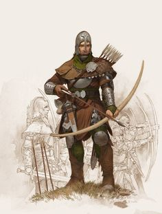 – adrian - smith – militia archer
