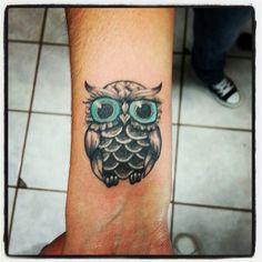 Owl  buho tattoo tatuaje  tecolote  by fabian rojas