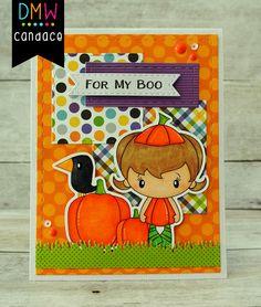 Candi O Designs O Design, My Boo, Digital Stamps, Card Ideas, Cool Designs, Lunch Box, Card Making, Scrapbook, Halloween