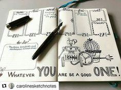 #Repost @carolinesketchnotes with @repostapp ・・・ Bullet journal weekly, love the drawing!  #bulletjournal #illustration #robot #cactus #clock #quotes --------------------------------------- Use #bujoinspire para compartilhar seu BuJo conosco, caso sua conta seja privada envie por Direct. #bulletjournal #meupapiro #bujo #bujojunkies #bujobrasil #studyblr #studyspo #journal #sketchbook #agenda #showmeyourplanner #mystaedtler #fytc #compactor #pigmentmarker #prismacolor #calligraphy #staedtler…