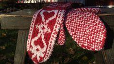 Strömsön pitsihuvilan inspiroima kudontaohje. Knitted Gloves, Mittens, Knit Crochet, Knitting Patterns, Winter Hats, Beanie, Inspiration, Knits, Diy