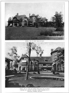 The James Byrne estate designed by Grosvenor Atterbury c. 1906.
