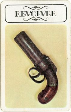 Clue - Weapons Revolver (board game pieces) Tags: