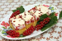 Ríbezľový koláč so snehom
