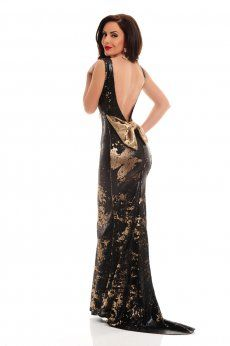 Rochie LaDonna Caressing Shine Black Shinee, My Outfit, Backless, Formal Dresses, Outfits, Shopping, Black, Fashion, Woman