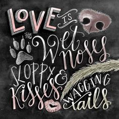 Dog Decor Dog Lover Gift Dog Quote Dog Art by TheWhiteLime on Etsy (Visited 1 times, 1 visits today) Dog Lover Gifts, Dog Gifts, Dog Lovers, Pet Sitter, Chalkboard Print, Chalkboard Quotes, Chalkboard Decor, Animal Quotes, Chalkboard Art