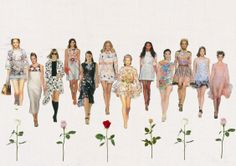 floral #SS14 #moodboard #nehal