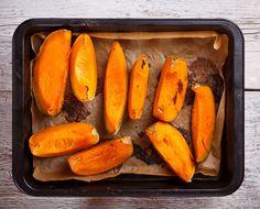 Toddler Finger Foods- Baked Pumpkin
