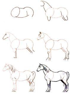 1364 Meilleures Images Du Tableau Dessin Cheval En 2019 Horses