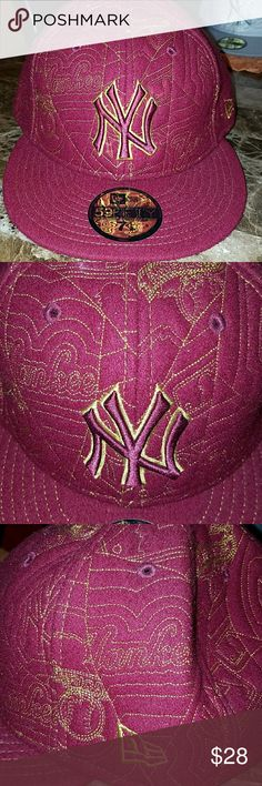 86c054e9 New York Yankees New Era Hat Rare winterized fitted hat. New Era  Accessories Hats
