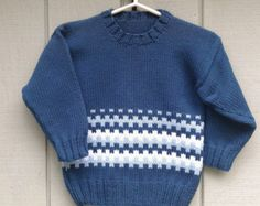 Hand knit wool Sweater Bohéme Sweater Nordic Fair by FaroeKnit Baby Patterns, Baby Knitting Patterns, Hand Knitted Sweaters, Wool Sweaters, Knitting For Kids, Hand Knitting, Knit Dress, Boy Outfits, Knitwear