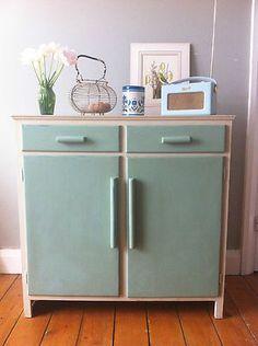 Vintage 1950s/60s kitchen cupboard cabinet storage unit | eBay