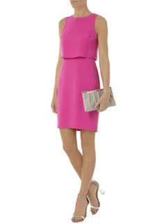 Dorothy Perkins Double layer crepe dress