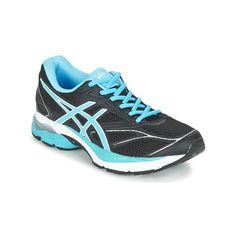 Asics GEL-PULSE W Noir / Bleu - Livraison Gratuite avec Spartoo.com ! - Chaussures Chaussures-de-running Femme 99,99 €