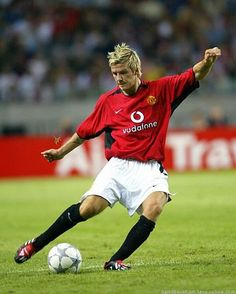 David Beckham on Manchester United