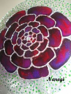 """""""Rosas cheiro do amor ...."""" (Naregi Mandalas Vitrais)"""
