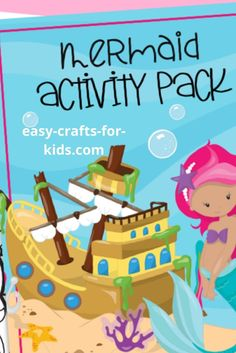 Mermaid Activities for Kids Free To Print